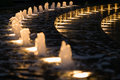 Fountain With Lights In Downtown Houston,  Texas Royalty Free Stock Image - 67340526