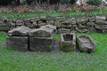 Ancient Stone Coffins Stock Image - 67340741
