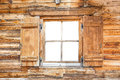 Window Of A Mountain Cabin Royalty Free Stock Photos - 67359448