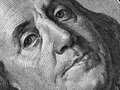 Ben Franklin Face On Us 100 Dollar Bill Extreme Macro, United St Stock Photos - 67387533