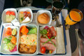 Food And Drinks On The Plane Stock Photography - 67398962