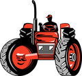 Farmer And His Tractor Royalty Free Stock Photography - 6747337