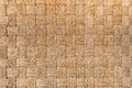 Traditional Thai Style Pattern Nature Background Of Brown Handicraft Weave Texture Wicker Surface For Furniture Material. Royalty Free Stock Photography - 67417587