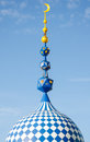 The Minaret Of The Mosque Against The Blue Sky. Royalty Free Stock Photos - 67420668