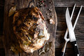 Baked Ham With Spices Stock Images - 67422494