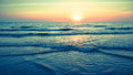 Panorama Of Beautiful Sunset On The Ocean. Nature. Royalty Free Stock Photos - 67434368