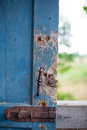 With A Broken Door Latch Stock Photography - 67434952