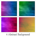 A Set Of Four Colorful Abstract Backgrounds Royalty Free Stock Image - 67435246