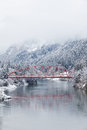 Japan Countryside Winter Landscape At Mishima Town Royalty Free Stock Photos - 67448098