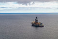 Exploratory Offshore Drilling By Drillship Stock Photo - 67450590