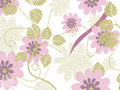 Vintage Floral Background Royalty Free Stock Photography - 6751407