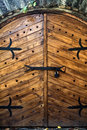 Wooden Medieval Gate Stock Images - 6757794