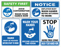 Wash Your Hands Sign Royalty Free Stock Image - 67583476