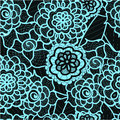 Lace Seamless Pattern With Abstract Elements. Vector Floral Background. Royalty Free Stock Photo - 67586615
