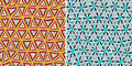 Seamless Tribal Pattern Stock Images - 67589154