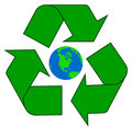 Recycling Earth Royalty Free Stock Photography - 6763547