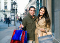 Couple In Shopping Royalty Free Stock Photography - 6764027