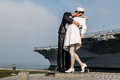 Unconditional Surrender Statue In San Diego Stock Photos - 67613623