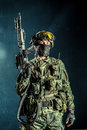 Special Force Soldier Royalty Free Stock Photo - 67679785