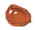 Leather Baseball Glove Royalty Free Stock Images - 67686379