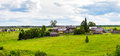 Panorama Of Russian Village Royalty Free Stock Photos - 67748648