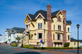 Victorian House In The Eureka Downtown In California Stock Photo - 67770280