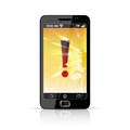 Broken Smart Phone Flat Icon Royalty Free Stock Photography - 67783797