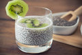 Chia Seed Pudding Royalty Free Stock Images - 67797079
