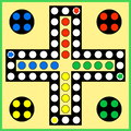 Ludo Board Game Stock Images - 67826174
