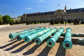 Bronze Cannons Invalides Stock Images - 67845454