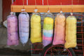 Cotton Sweet Candy In Rainbow Colors Royalty Free Stock Image - 67846226