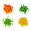Heaps Of Different Cut Vegetables Stock Photography - 67854492