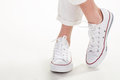 Pair Of Simple Trainers. Stock Photos - 67868763