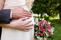 Hands With Wedding Rings Royalty Free Stock Image - 67869156