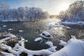 The Pack Ice And Soft Rime Stock Images - 67880944