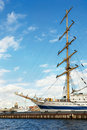 Sailing Vessel In St-Petersburg Port Stock Image - 6798131
