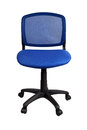 Blue Office Chair Royalty Free Stock Image - 67908286