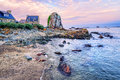 Atlantic Beach On The Pink Granite Coast, Brittany, France Stock Photo - 67919700