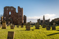 Graveyard Priory And Castle Royalty Free Stock Image - 67925916