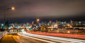 Vancouver Downtown Night At E 1th Ave Royalty Free Stock Image - 67938846