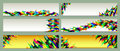 A Set Of Colorful Web Banners Templates. Abstract Backgrounds Royalty Free Stock Images - 67952509