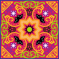 Talavera Tile. Vibrant Mexican Seamless Pattern, Royalty Free Stock Photography - 67978077