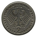 Two German Marks Coin Stock Images - 6809394