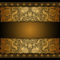 Vintage Background, Floral Antique Card Royalty Free Stock Photos - 68119758