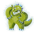 Vector Cute Halloween Character Ogre, Fictitious Creature. Cool Stock Image - 68186141