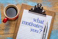 What Motivates You Question Royalty Free Stock Images - 68221049