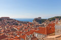 Old Town Of Dubrovnik, Croatia. UNESCO Site Royalty Free Stock Photography - 68230077