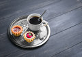 Small Cakes Petit Fours Tartlets Royalty Free Stock Images - 68232629