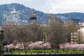 Portland Oregon Old Town Waterfront Royalty Free Stock Images - 68242749