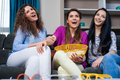 Movie With The Girls Royalty Free Stock Photo - 68263065